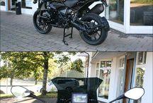 bmw r1200gs triable black