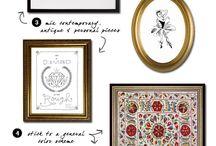 Wall gallery ideas / Wall gallery ideas