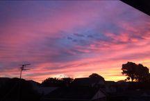 Pretty sky's