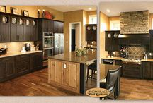 (DP) L-Shaped Kitchen Designs - Showplace Cabinets / Images of L-shaped kitchen layouts from Showplace Cabinetry and its nationwide network of dealers.