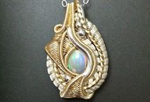 wirewrap pendants
