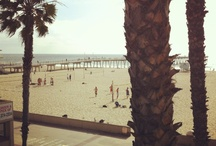 Hermosa Beach / One of the multitude of beach playgrounds in California.