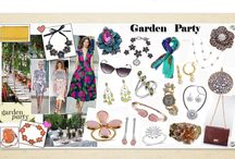 The Garden Part Edit / Summer is here, which means we will be spending loads of time outside enjoying the great weather. Find some inspriation for your summer social gatherings...