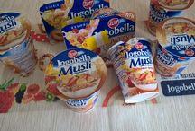 """Moje  chwile z Jogobella #porcjaradosci / Jogobella Breakfast, Jogobella Musli i Jogobella 8 Zbóż to sposób na prawdziwe """"śniadanie mistrzów"""" i pyszna porcja radości pełna soczystych owoców - przez cały dzień. Smaczną zabawę czas zacząć :)"""