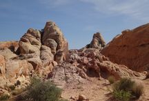 Desert landscape / the silence is deafening. listen to your own breath and heartbeat