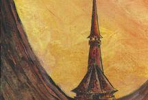 Marian Lupu LUPINO - PAINTVALLEY / Painting-acrylic on canvas-18X24-200$-LUPINO-Email: mlupubm@yahoo.com