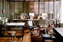 Creative Office | Decor ideas / Offices, home offices and art studio spaces that inspire the imagination.