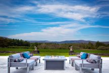 2015 Patio Furniture Trends / Mid-Century Modern, Global and Green are just a sample of what is trending for 2015 in patio furniture and outdoor décor. And if none of these float your boat, familyleisure.com has hundreds of other styles to choose from.