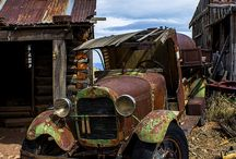 Rustic Beauty / Old Cars, trucks, houses A-Z