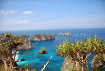 Nusa Penida island / If you go to Bali, it's a must go place  This is a good destination if you want to try different sceneries from Kuta or Sanur. It is like Bali 20 years ago - almost no tourists, empty beaches, clean beautiful blue water and amazing corals very interesting temples and lovely people. Highly recommended your visiting the best tour in island, best snorkeling and diving in nusa penida with manta … The island has many of interesting places and good for all seasons…