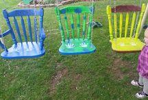 DIY Κούνιες κήπου - DIY swings