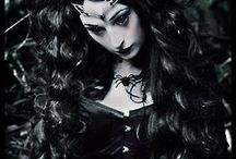 Gothic insp. shoot / collab with Anna Berger