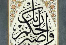 açıklamalı caligraphy