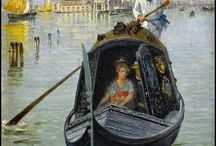 Venice La Serenissima - Art / The glory of all aspects of Venice and Venetian life as depicted by artists through the ages. / by Lesley McGibbon