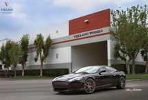 "Aston Martin DB9 l Vellano VCK 20"" Concave / Stunning Aston Martin Sitting on a set of Vellano VCK 20"" Concave Custom Cut and Finished three Piece Forged Wheels. What you Guys think?"