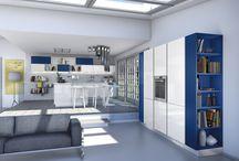 Cucina GIoia / Il nuovissimo modello in stile moderno con tecnologia Tetris brevettata!