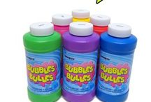 How to make glow in and the dark babble