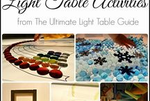 Light Table / Education, PK / by Stephanie Ellis