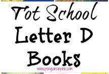 Letter D Preschool Unit / Letter D Preschool Unit with The Peaceful Preschool! #thepeacefulpreschool