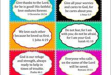 Bible: Memory verses