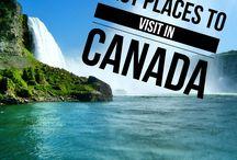 Canada / Une source d'inspiration pour découvrir le Canada   Inspiration to discover Canada