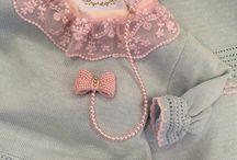 Saídas de Maternidade Le Petit Ange / Saídas de Maternidade de tricot !