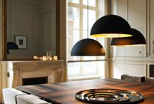 Light over dining table