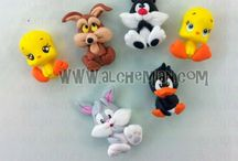 Fimo personnages