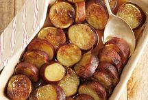 Oond gebakte patat