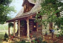 cabans en bois