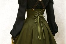 Clothing Designs / Rad styles from vintage, Steam punk,  Rock-a-Billy & Pin up and so many more I adore