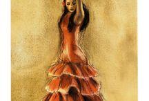 flamenco kunst
