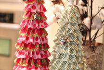 Celebrate - Christmas trees / by Inez Gerlock