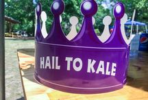 Hail To Kale / At the 11th Annual Lynches River Jamboree, we served Not Just Chocolate Cupcakes made with Kale! The kids loved it! They kept coming back and asking for more. Glory Foods can get your kids to eat their vegetables! #HailToKale