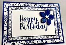 SU big on birthdays stamp set