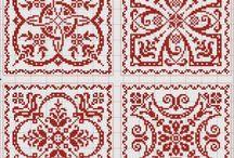 Vzory na křížkový steh