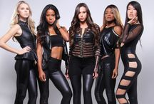 Forever Leather / Adding a jolt of femme fatale to women's fashion.