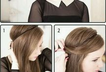 Hair updo's