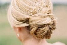 chignons mariage / inspirations coiffages