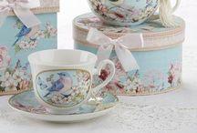 Gift Boxed Tea Cups, Teapots, Mugs, Tea for Ones