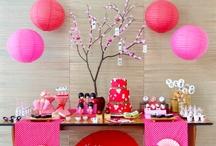 Oriental party ideas