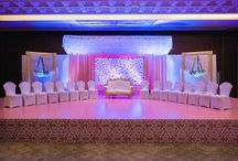 Indian wedding Stage & Decor / Stage decor ideas for Indian wedding and reception