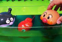 アンパンマン アニメ❤おもちゃ バイキンマンと金魚のおもちゃAnpanman toys