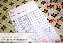 Printables - Journal tags / by Jill Miller