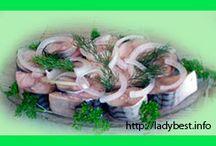 Маринованная рыбка