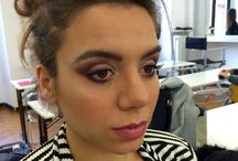 My works / My work in professional makeup Academy