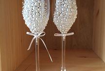 бокалы для свадьбы