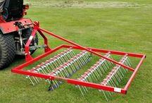 Lawn scarifier, towable scarifying rake / Towable scarifying rake for removing moss and thatch from your lawn or fields. Lawns and horse paddocks benefit from scarifying ensuring healthy grass growth. For more info: http://www.fresh-group.com/scarifying-rakes.html Please Like and Repin or Follow us!