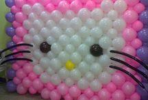 palloncini personaggi hello kitty