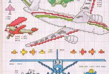 Crossstitch Planes